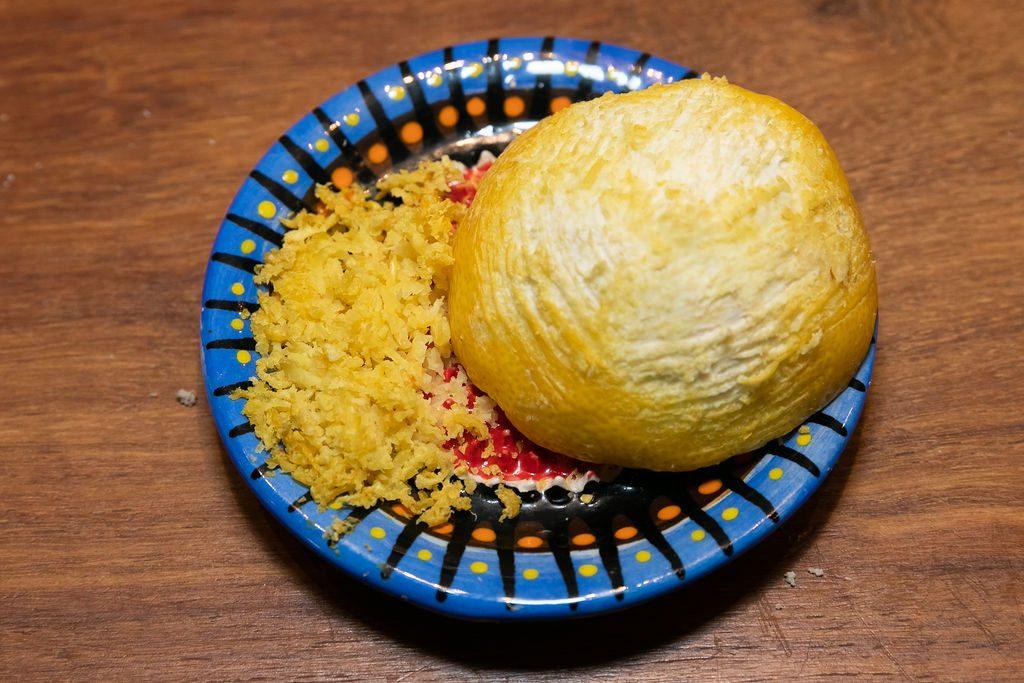 Keramik Reibe Zitrone