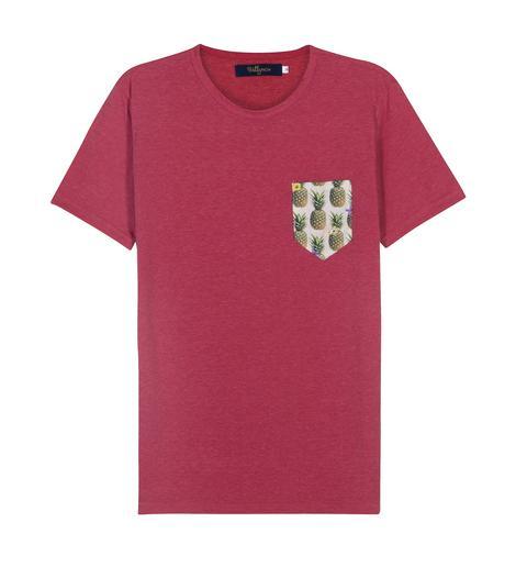 Pocket T-Shirt Pineapple