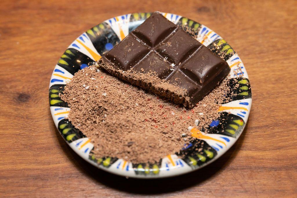 Keramik Reibe Schokolade