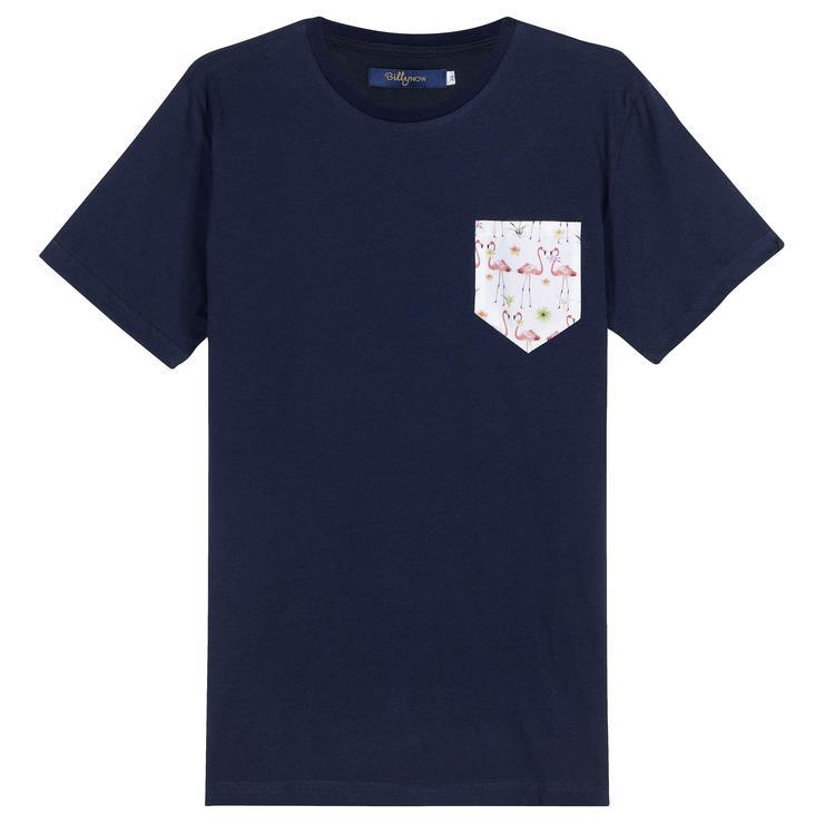 Pocket T-Shirt Flamingo